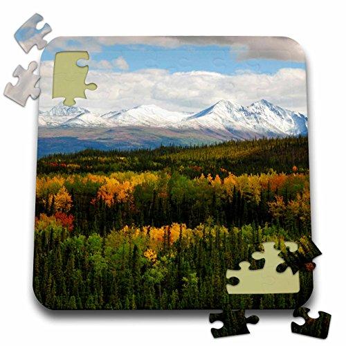 Danita Delimont - Alaska - Autumn, Denali National Park, Alaska, USA - US02 MHE0034 - Michel Hersen - 10x10 Inch Puzzle - National Clouds Park Range Denali