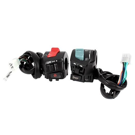 3 opinioni per Moto ATV Manubrio Corno Indicatore Di Direzione Faro Interruttore Elettrico Per
