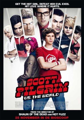 NEW SCOTT PILGRIM VS THE WORLD OFFICIAL CINEMA MOVIE FILM PRINT PREMIUM POSTER