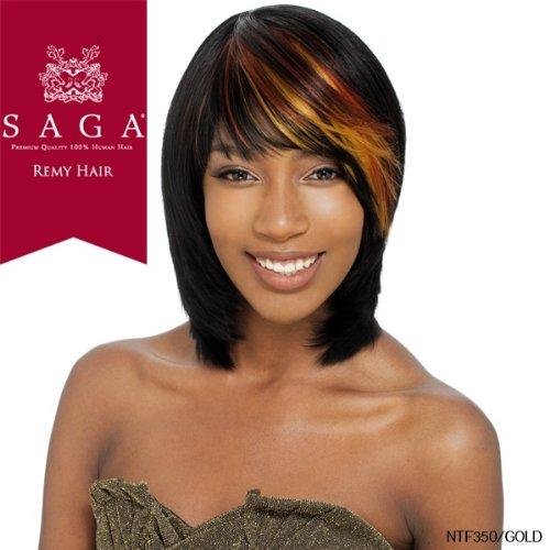 SAGA 100% REMY HUMAN HAIR WIG - DESTINY (1B - Off - Mall Destiny Shopping