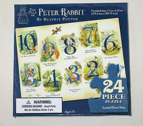 Beatrix Potter Peter Rabbit Counting Puzzle