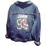 EmilyLe Premium Kpop BTS Unisex Jacket Chaqueta Jeans Coat for Army BTS Hoodies