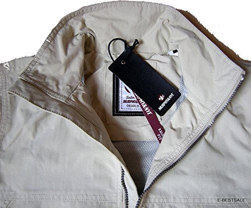 Giacca Giubbotto Uomo Bianco Murphy and Nye New Sail Jacket Cordura Light White 363301 NY9230-S
