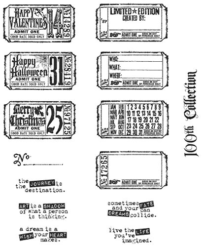 stampers anonymous tim holtz large cling rubber stamp set. Black Bedroom Furniture Sets. Home Design Ideas