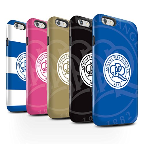 Officiel Queens Park Rangers FC Coque / Brillant Robuste Antichoc Etui pour Apple iPhone 6S / Pack 11pcs Design / QPR Crête Club Football Collection