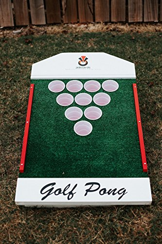 Custom Golf Pong by jkBoards