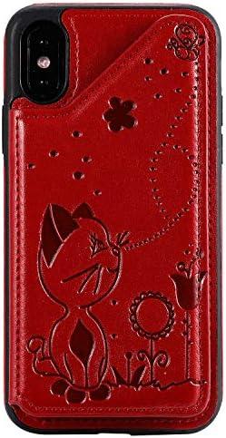 Samsung Galaxy S9 レザー ケース, 手帳型 サムスン ギャラクシー S9 本革 カバー収納 耐衝撃 ビジネス 財布 携帯ケース 無料付スマホ防水ポーチIPX8