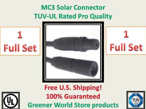 Mc3 Solar Connector 1 Set Greener World Store.com