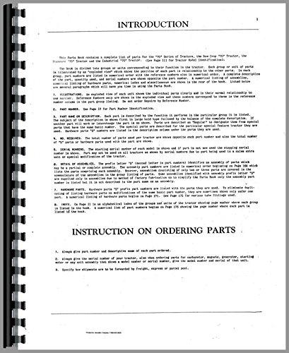 Cockshutt Tractor Parts Manual (OL-P-70)