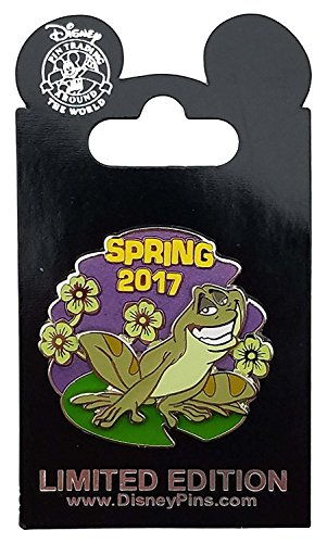 Disney Pin - Spring 2017 - Princess and the Frog - Naveen
