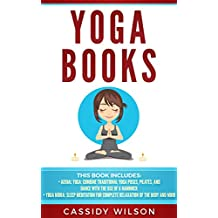 Yoga Books: Aerial Yoga, Yoga Nidra: Sleep Meditation for Complete Relaxation of the Body and Mind