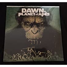 SDCC 2017 Dawn of the Planet of the Apes EXCLUSIVE vinyl soundtrack Blu-ray DVD