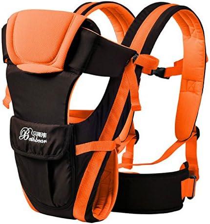 Ajustable Niño portador eslingas, happycell (TM) ajustable Wrap Sling Mochila Front/Back Pack Infant Baby Portabebés Wrap rider-the mejor para recién nacido y niño: Amazon.es: Bebé