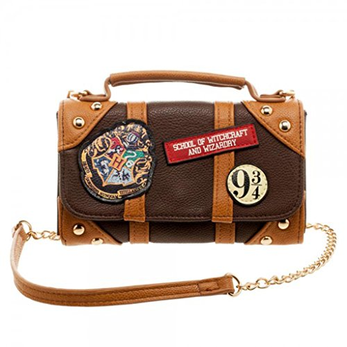 Harry Potter Handbag Wallet Hogwarts School of Witchcraft Crossbody Purse ()