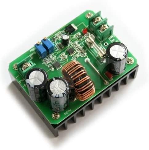 Quickbuying 5pcs DC-DC 600W 10-60V to 12-80V Boost Converter Step-up Module car Power Supply
