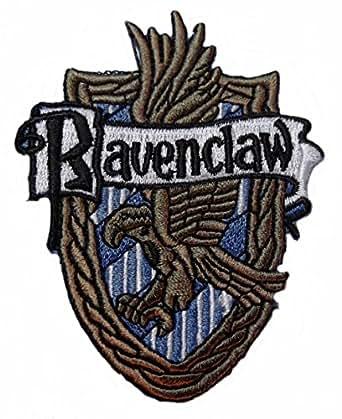 Harry Potter House of RAVENCLAW Crest PATCH at Amazon Men ... Ravenclaw House Crest