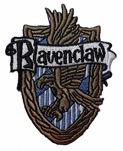 [Harry Potter House of RAVENCLAW Crest PATCH] (Luna Harry Potter Costumes)