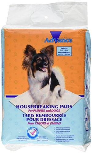 Pad Training Coastal - Coastal Pet Products DCP18814 14-Pack Advance Dog Housebreaking Pad with Turbo Dry