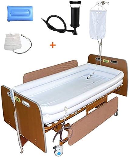 Amazon.com: Sistema de ducha inflable médico, bañera de PVC ...