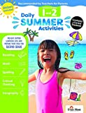 Evan-Moor Daily Summer Activities, Between 1st Grade and 2nd Grade Activity Book; Summer Learning Workbook Activities