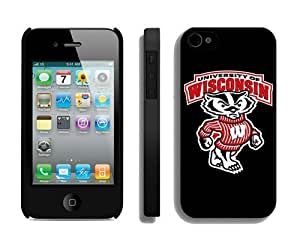 Ncaa Iphone 4/4s Black Case Cover Sports Element Designer Mobile Phone Accessories