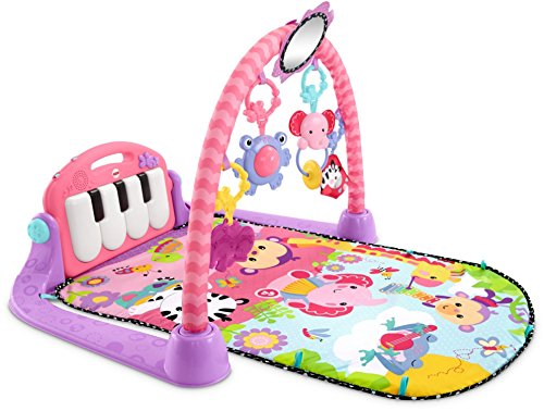 Fisher-Price Kick n Play Piano Gym Pink
