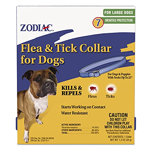 Zodiac Flea and Tick Collar for Large Dogs