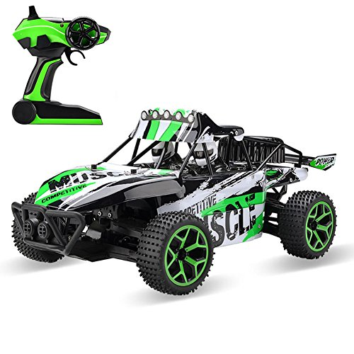 RC Cars High Speed Off road Electric RC Dune Buggy 1:18 Scale 2.4Ghz 4WD Remote Control Car Truck -333-GS03B