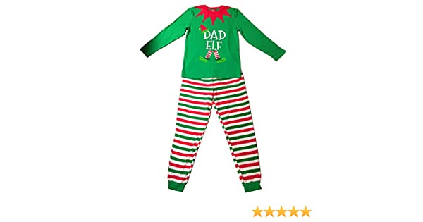 b4fb82e697 Amazon.com  Christmas Elves Elf Pyjamas PJ Top   Bottom Xmas Family  Nightwear (Mens Extra Large)  Toys   Games