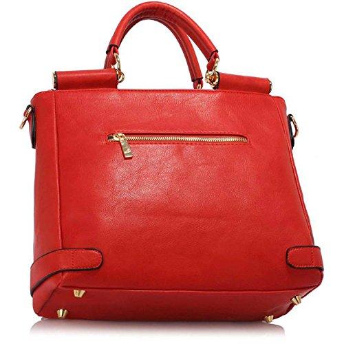 Stile 2 Sacchetto Londra Xardi Rosso Donna 5FtITqUw