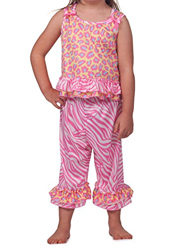 Laura Dare Big Girls Skin Perfection Bow Top PJ, Size 10