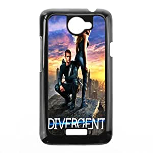 DIY Printed Divergent cover case For HTC One X BM9799077