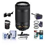 Nikon AF-P DX NIKKOR 70-300mm f/4.5-6.3G ED VR Lens for Nikon DSLR Cameras (Certified Refurbished)