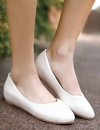 las de señaló azul rosa 5 zapatos uk3 blanco us5 cn35 eu36 Casual Toe mujeres Flats 5 pink talón PDX plano n5Ev4YY