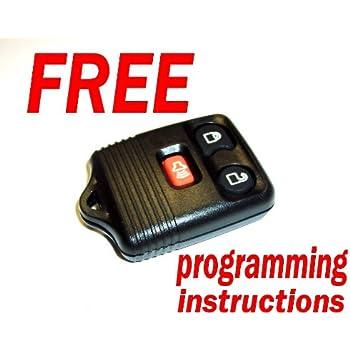keyless entry remote programming instructions