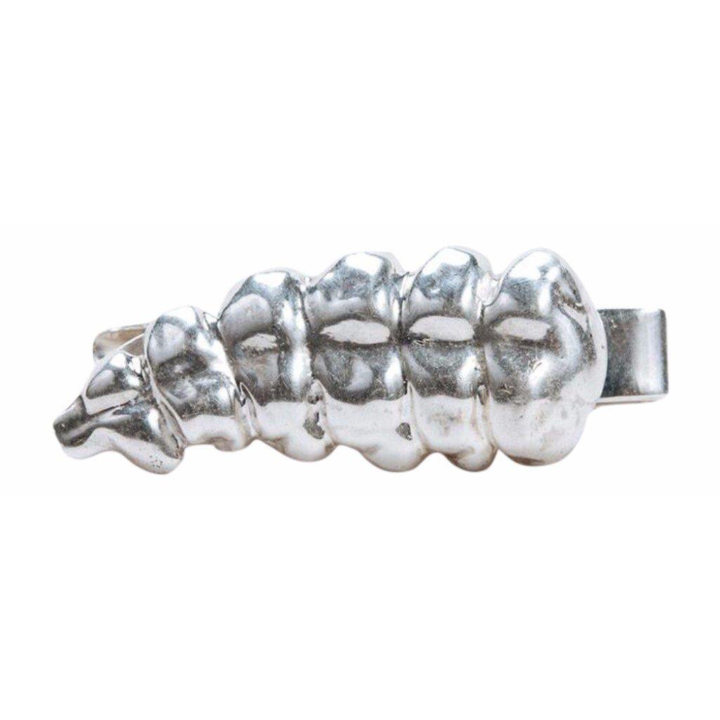 Amazon.com: Salobre cascabel sonajero pulido de plata para ...