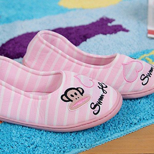 Ea @ Markt Womens Cover Hak Schoenen Antislip Indoor Slippers Aap