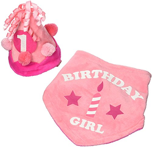 (Toby & Company Baby Girls Toby 2 PC 1st Birthday Set, pink coral One)