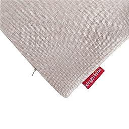 Kingla Home® Cotton Linen Square Decorative Throw Pillow Covers 18\