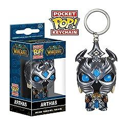 Funko POP Keychain: World of Warcraft - Arthas Action Figure
