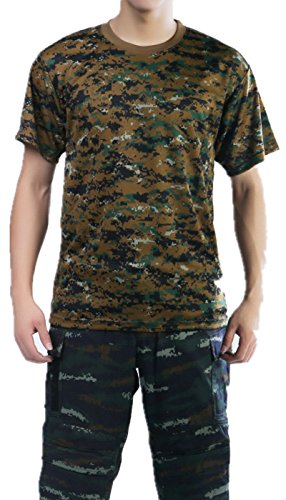 Woodland Camo Bdu Military Shirt - 7