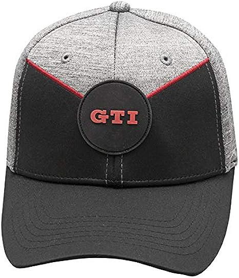 Black//Red Volkswagen VW GTI Tuner Traditional Mechanic Cap