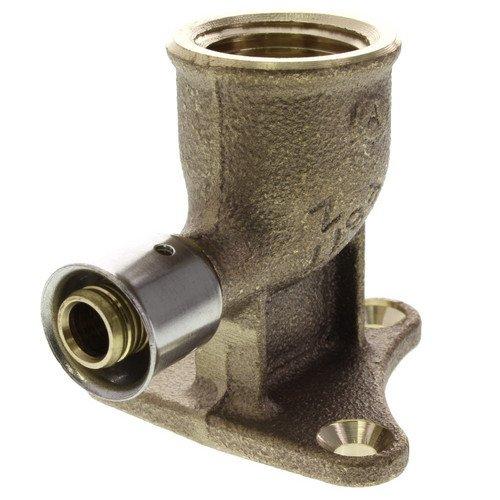 Zero Lead Bronze 3/8inch PEX Press x 1/2inch F NPT whit Attached Sleeve