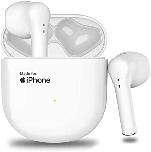 Bluetooth 5.0 Wireless Earbuds Bluetooth Headphones?24Hrs Charging Case? 3D Stereo Built in Mic Headset Pop-ups Auto Pairing Fast Charging for Earphone Samsung iPhone Apple Airpods in Ear Earbuds
