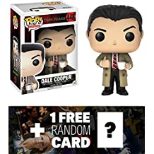 Dale Cooper: Funko POP! TV x Twin Peaks Vinyl Figure + 1 FREE American TV Themed Trading Card Bundle (12694)