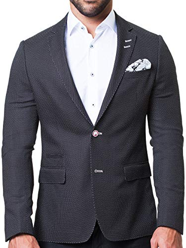 Maceoo Mens Designer Blazer - Night Out Stylish Sportswear - Socrate Bespoke - Sport Coat Italy Linen