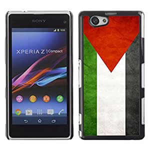 Shell-Star ( National Flag Series-Palestine ) Snap On Hard Protective Case For SONY Xperia Z1 mini