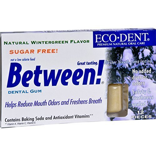 ECO-DENT BETWEEN DENTAL GUM,WNTGRN, 12 CT