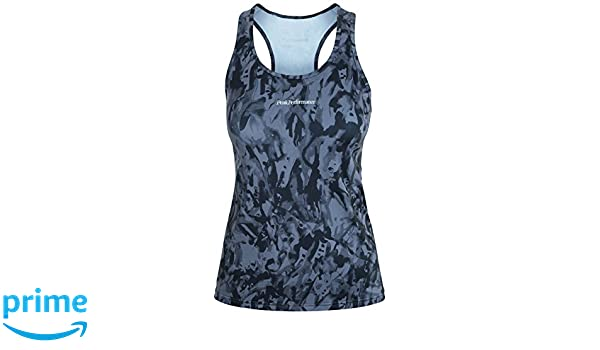 Color Peak Para Mujer Performance Camiseta Negrogris Cappis Top YpWBn8Y