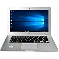 Reson Ultrabook Laptop 14 inch Notebook Computer Intel Atom X5-Z8300 1.44Ghz Quad Core,4G RAM 64G SSD 1.3M Camera WiFi HDMI Bluetooth 10hr Standby Support Windows 10 For Student Kids Girls School